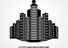 Free vector Cityscape background #21820