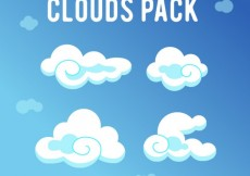 Free vector Clouds pack #27615