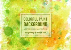 Free vector Colorful paint background #27567