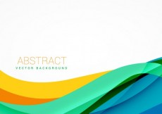 Free vector Colorful wavy background #25557