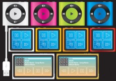 Free vector Compact mp3 Players #24155