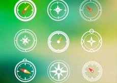 Free vector Compass icons #20534