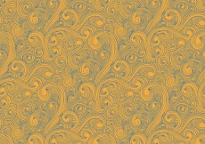 Free vector curly drawn pattern #27515