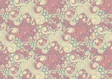 Free vector curly drawn pattern #27523