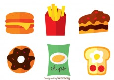 Free vector Delicious Food Icons #20939