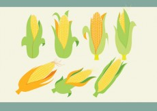 Free vector Ear of Corn Vectors #25358