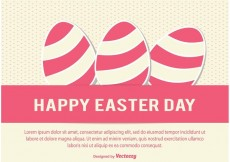 Free vector Easter Day Vector Illustration #22556