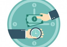 Free vector Exchanging time and money #22595