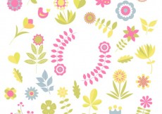 Free vector Floral decorations #22066