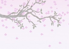 Free vector Flowering branch background #20840