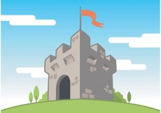 Free vector Fort Vector Free Background #24094