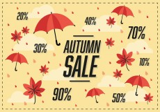 Free vector Free Autumn Sale Vector Background #25888