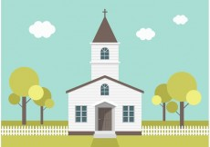 Free vector Free Country Church Vector #23512