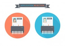 Free vector Free Curriculum Vitae Rejected Vector Icons #22765