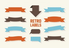 Free vector Free Labels Vector Collection #25908
