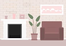 Free vector Free Living Room Vector #24479