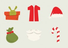 Free vector Free Santa's Workshop Vector Illustration #24515