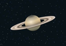 Free vector Free Saturn Planet Vector #24185