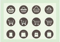 Free vector Free Shopping Vector Icons #27985