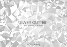 Free vector Free Silver Low Poly Vector Background #24843