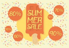 Free vector Free Summer Sale Vector Background #25660