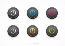 Free vector Free Vector Black On Off Buttons #22315