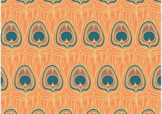 Free vector Free Vector Peacock Pattern #23297