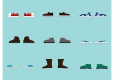 Free vector Free Vector Shoes #28087