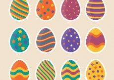 Free vector Funny easter eggs #21946