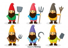 Free vector Gnome Characters Vector #26554