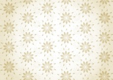 Free vector Gold floral wallpaper #26351