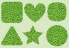 Free vector Grass Shapes #25982