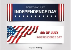 Free vector Independence Day Banners #23537