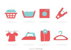 Free vector Laundry Icons #26602