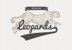 Free vector Leopard badge in illustration style #21377