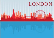 Free vector London City Scape Vector #21594