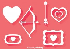 Free vector Love Element Icons #20865