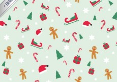 Free vector Lovely christmas pattern #25473
