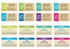 Free vector Offers And Promotions Coupon Vectors #27638