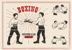Free vector Old Time Boxing Vectors #27885
