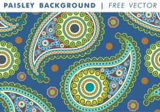 Free vector Paisley Background Vol. 2 Free Vector #24801