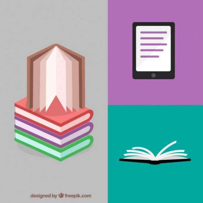 Free vector Reading concept #22330