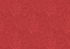 Free vector red abstract mountains pattern #27421