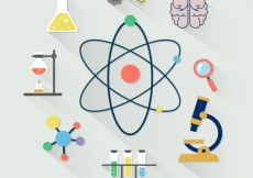 Free vector Science icon collection #22555