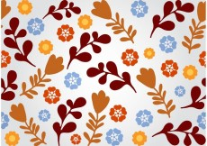 Free vector Seamless Floral Vector Background #27887