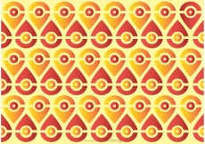 Free vector Seamless Peacock Tail Pattern Vector #23004