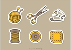 Free vector Sewing And Needlework Vector Icons #23162