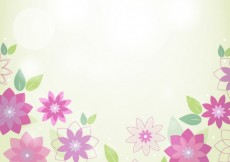 Free vector Spring flowers background #21616