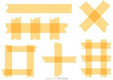 Free vector Sticky Tape Vectors #22764