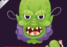 Free vector Swamp thing mask #24224